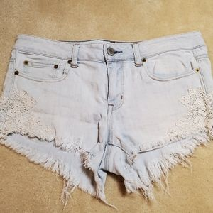 American Eagle Shorty Shorts